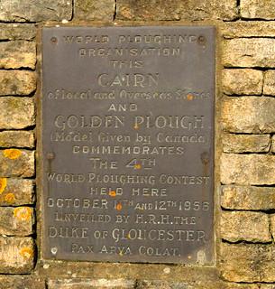 cairn inscription