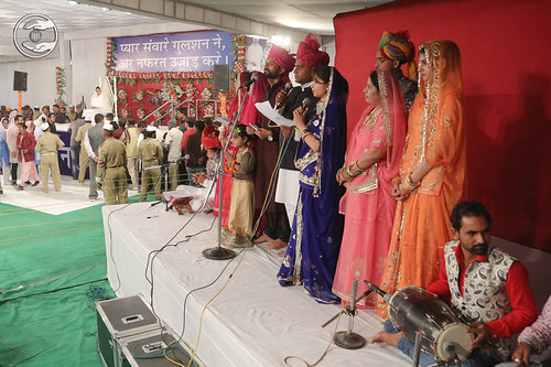 Welcome song by Sadh Sangat Jodhpur RJ