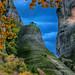 Autumnal nature at Meteora by Dimitil
