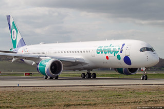 Evelop Airlines Airbus A350-941 cn 293 F-WZHJ // EC-NBO | by Clément Alloing - CAphotography