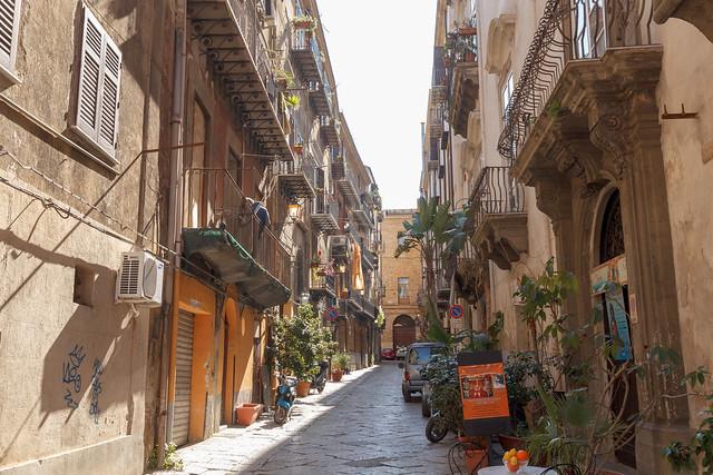 Palermo street view