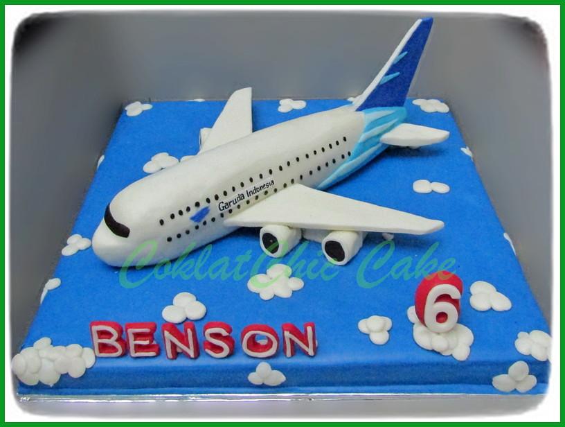 Cake Pesawat Garuda BENSON 30 cm