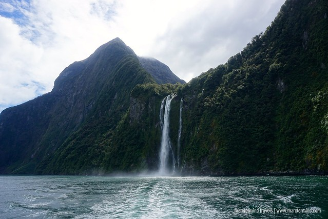 Milford Sound Waterfalls