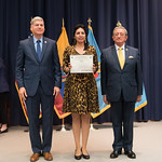 Fri, 03/29/2019 - 14:42 - On Friday, March 29, 2019, the William J. Perry Center for Hemispheric Defense Studies hosted a graduation ceremony for two courses: 'Strategic Implications of Human Rights and Rule of Law' and 'Combating Transnational Threat Networks.' Students from all over the Americas attended the courses from March 18-29, 2019. The graduation ceremony and reception took place in Lincoln Hall at the National Defense University's North Campus at Fort McNair in Washington, DC.