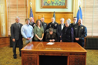 Wildfire Awareness Week Proclamation | by KSRE Photo