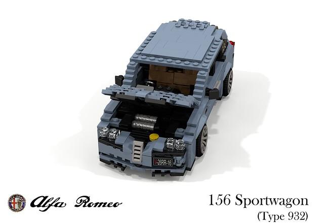 Alfa Romeo 156 Sportwagon (Type 932)
