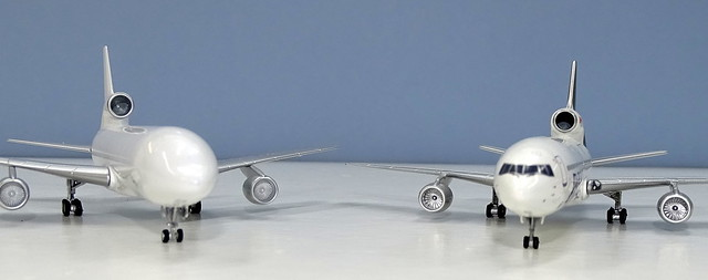 NG Models Lockheed L-1011 Tristar vs Witty Wings Tristar