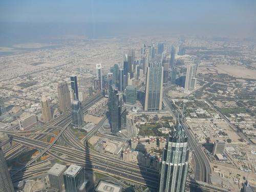 Dubai - vanaf Burj Khalif - 148th floor - 4