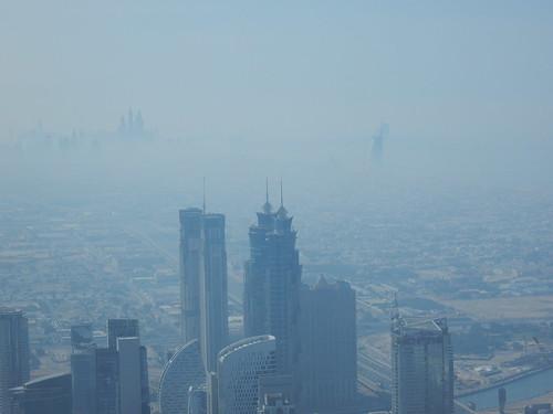 Dubai - vanaf Burj Khalif - 125th floor