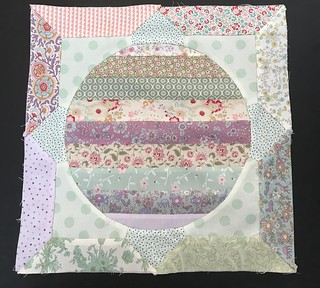 Last Block -Pretty Circle Game Quilt