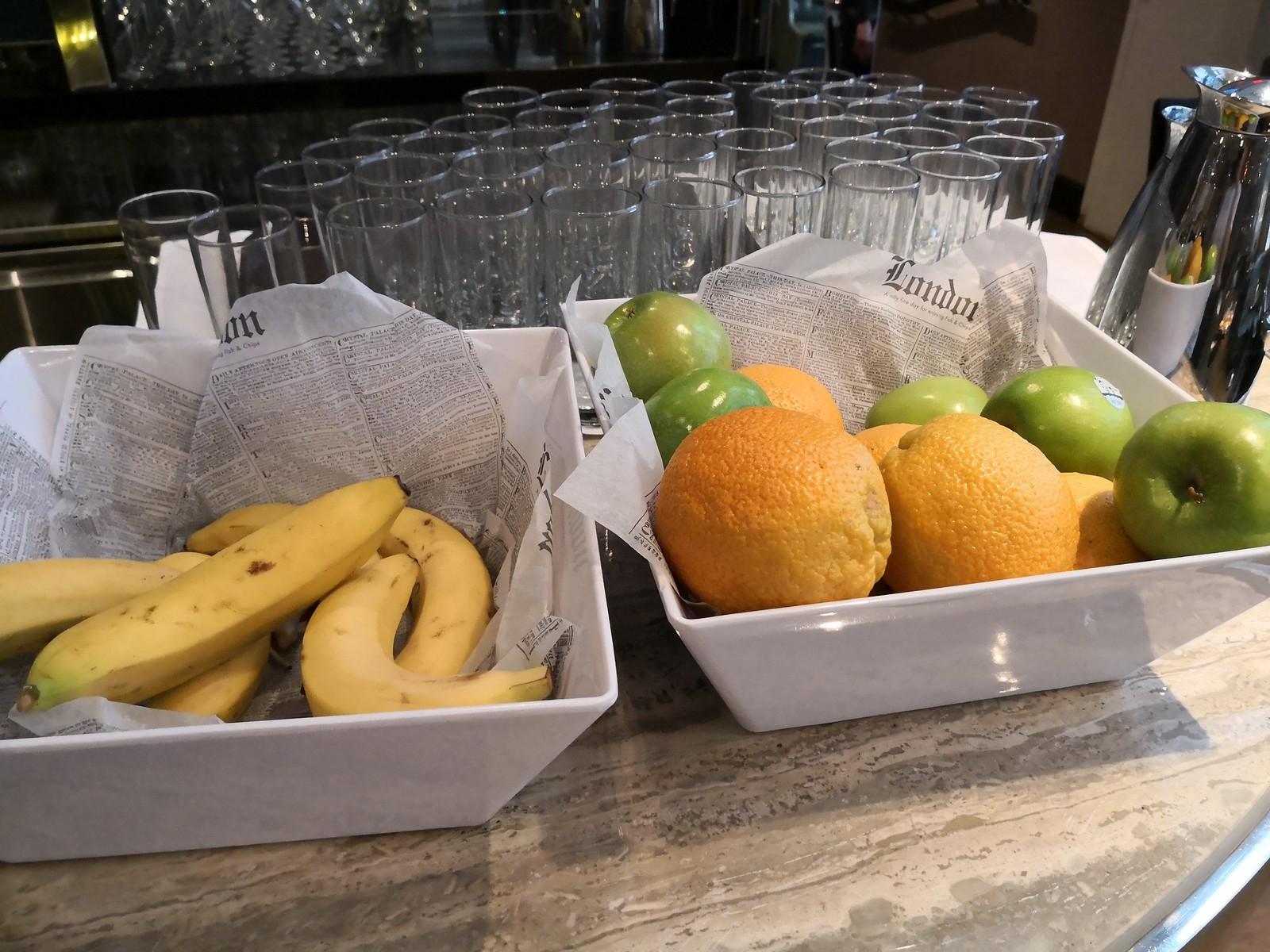 Fresh fruits selection
