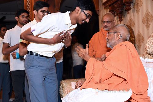 Std-10-11-12-visit-to-Haridham-for-Swamishree's-Blessings-(75)   by Atmiya Vidya Mandir