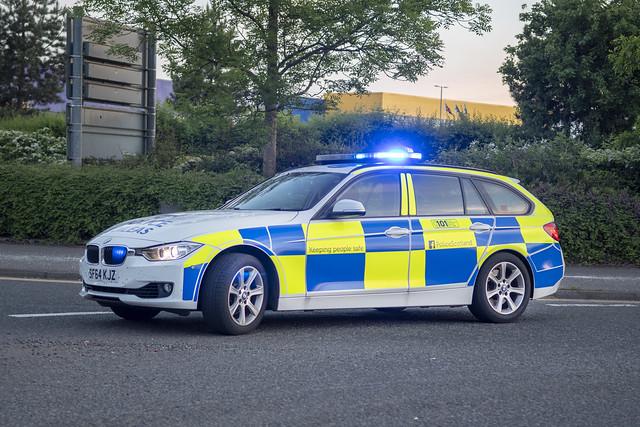 Police Scotland SJ64 KJZ