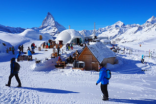 Arriving at the Igloo Village, Zermatt, Switzerland | by BuzzTrips