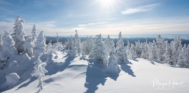 La vallée des Fantôme: Monts-Valin