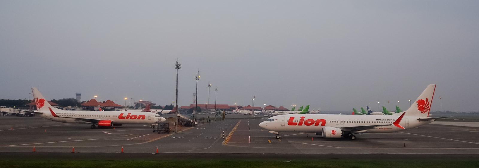 Lion Air jets