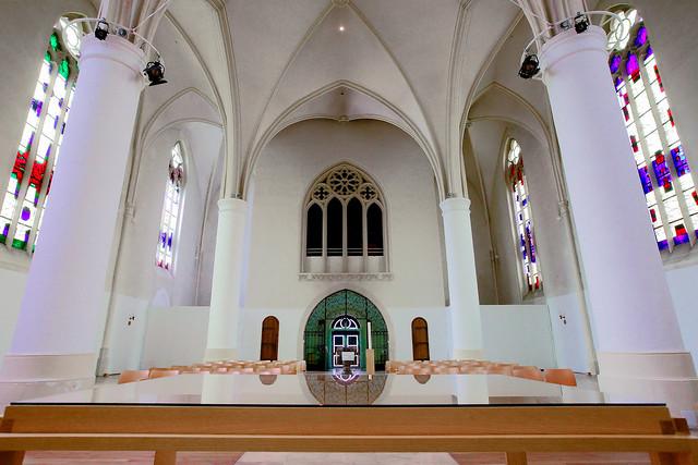 Jungendkirche Effata [!] - St. Martini - Innenansicht - Münster (02)