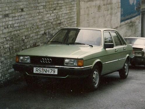 Audi 80 GLS, B2, Mod. 1981   granada-uwe   Flickr