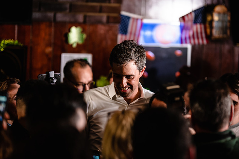 Beto O'Rourke in Cleveland
