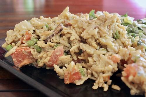 Creamy Orzo with Bacon and Peas | by kimberlymarsh