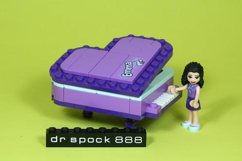 Emma Heart Box Grand Piano
