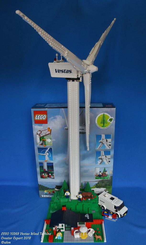 LEGO 10268 Vestas Wind Turbine | LEGO 10268 Vestas Wind Turb… | Flickr