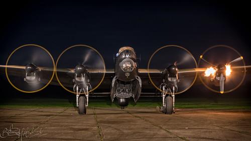 Lincolnshire Aviation Heritage Centre Avro Lancaster B.VII G-ASXX NX611