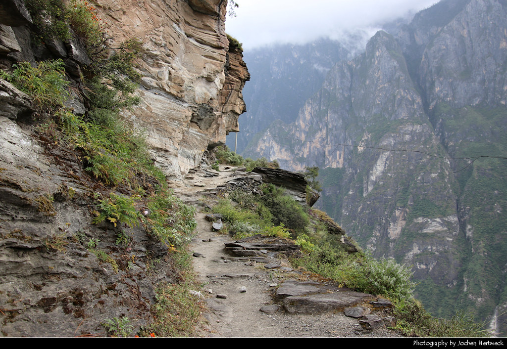 High Trail, Tiger Leaping Gorge, Yunnan, China