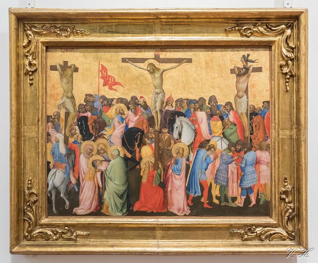 2019/02/24 12h15 Agnolo Gaddi, «Crucifixion» (vers 1390-1396), Galerie des Offices (Florence)