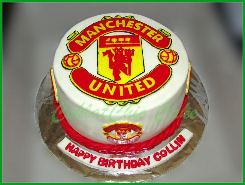Cake Manchester United COLLIN 18 cm