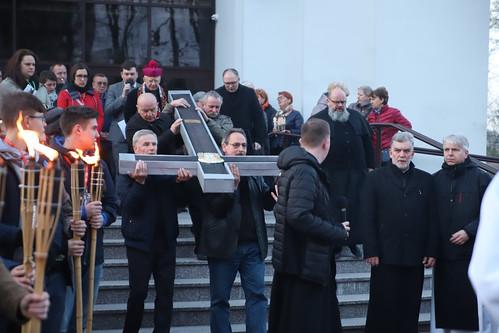 Nowohucka Droga Krzyżowa | Abp Marek Jędraszewski, 14.04.2019