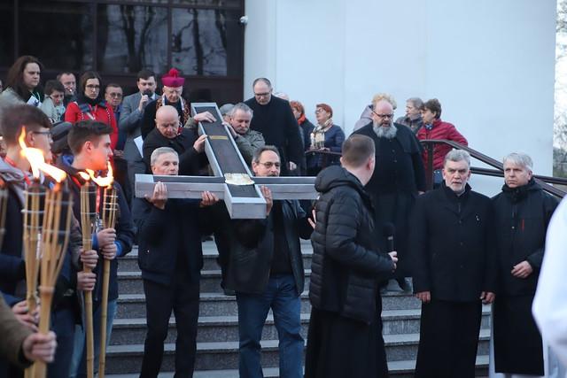 Nowohucka Droga Krzyżowa   Abp Marek Jędraszewski, 14.04.2019