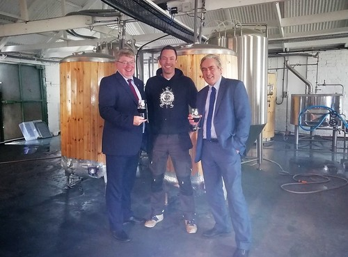 Visit to Eyeball Brewing in West Barns   by Iain Gray MSP