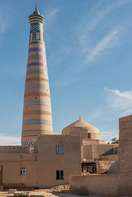 Islam Khodja Minaret, Khiva, Uzbekistan