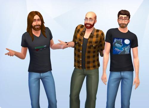 Sims 4: Da Boyz | by tophrrrr