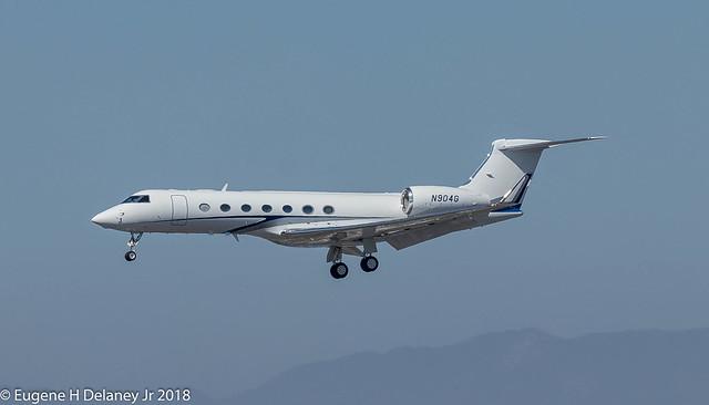 Bank of Utah Trustee,  N904G, 2006 Gulfstream Aerospace G-V-SP (G550), MSN 5101