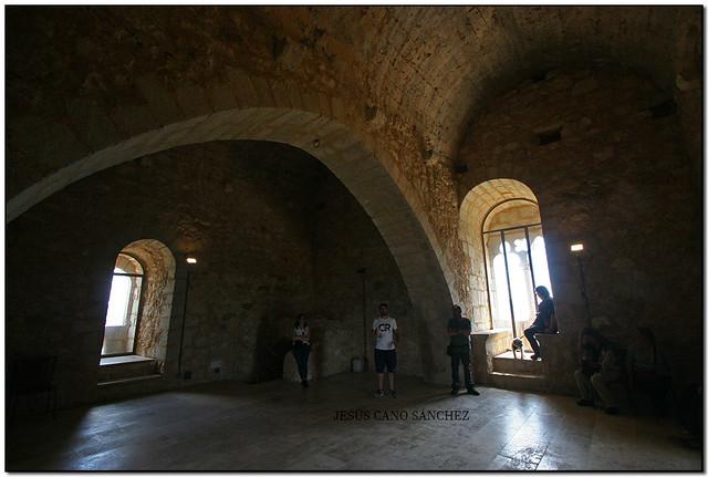 A la torre del castell d'Ulldecona (el Montsià)