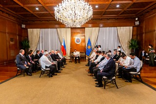 USPHS Courtesy Call on President Duterte | by us-phsociety