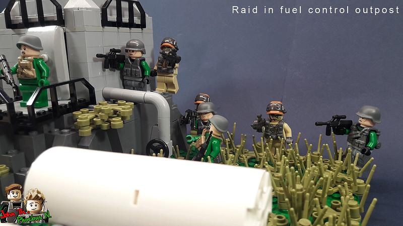 [Great Brick War - Adamson (γιος Adam)] - Raid in Fuel Control Outpost 46532569215_e5a0773029_c