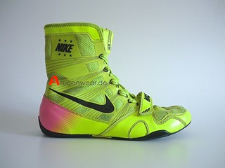 NIKE FLYWIRE BOXING HI SHOES / HI TOPS | by aucwd