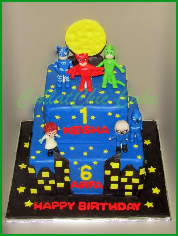 Cake PJ Mask KEISHA 22/15 cm