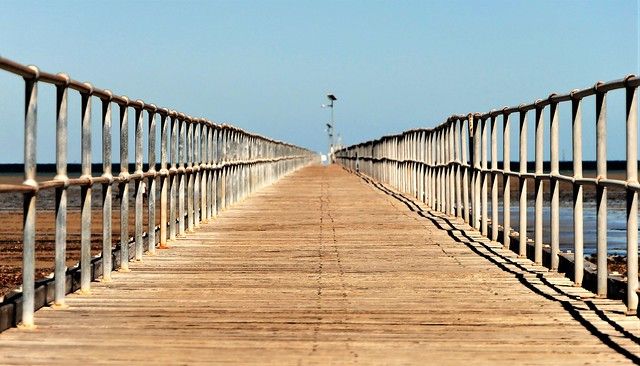 Vanishing Point, Port Germein Jetty, South Australia