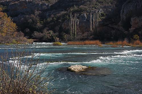 hrvatska croatia krka river outdoors hiking landscape ogrlice cascades tufa canyon