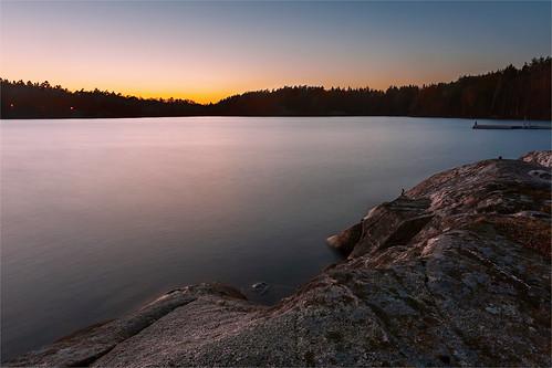 sunset sisjön mölndal göteborg gothenburg longexposure cokin sunrise spring sweden nature landscape