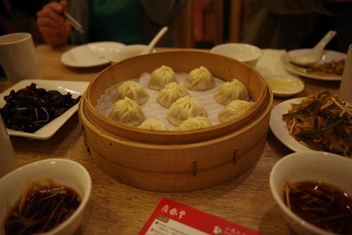 Soup Dumplings at Din Tai Fung