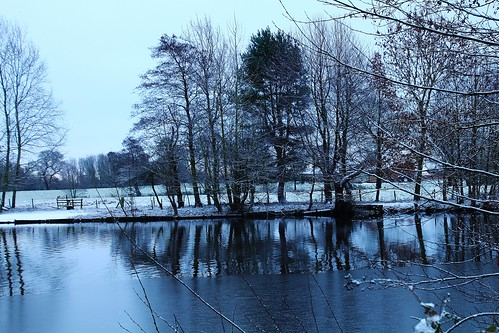 europe england cheshire outdoor nature landscape lake trees reflections winter ice simplysuperb greatphotographers