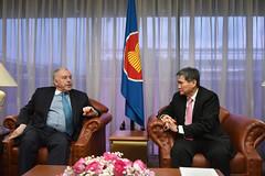 Courtesy call by Ambassador of Uruguay, H.E. Gerardo Prato
