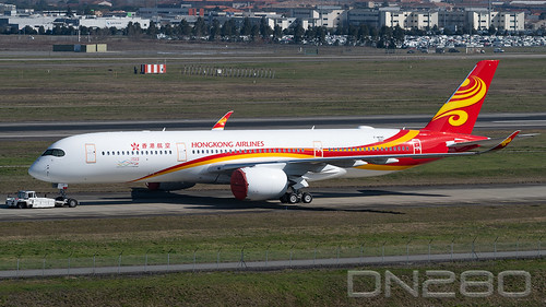 Hong Kong Airlines A350-941 msn 260 | by dn280tls