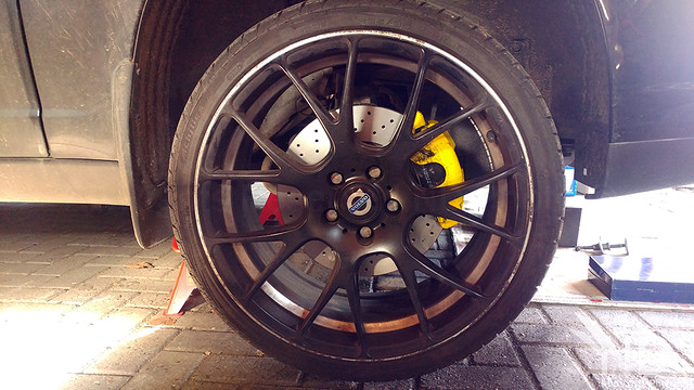 Volvo S80 2.4T Brembo Xtra Line Cross Drilled Discs