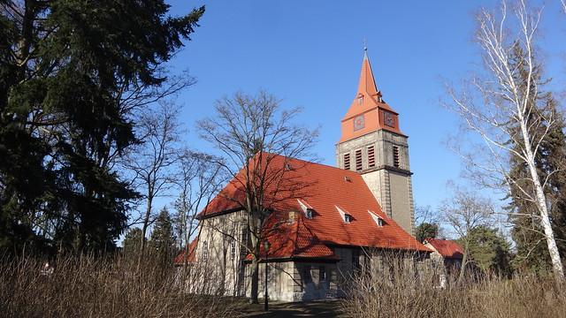 1910/11 Berlin evangelische Tabori-Kirche 38mH von Jürgen Bachmann/Peter Jürgensen Schönblicker Straße in 12589 Wilhelmshagen